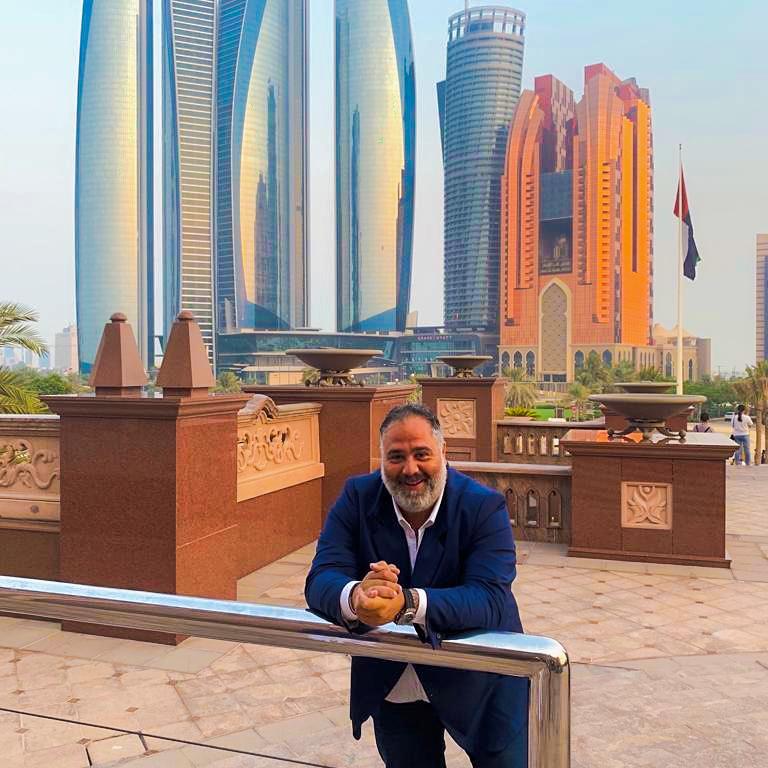Francesco Osanna ad Abu Dhabi