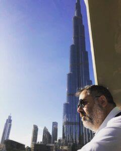 Franncesco Osanna Burj Khalifa Dubai